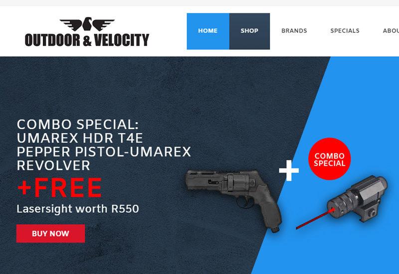 Outdoor & Velocity - online store development