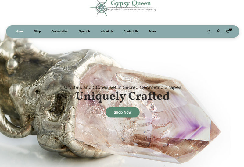 The Gypsy Queen Jewellery website development has been one of our favourite developments. Veronica Sleigh is an amazingly talented artist producing bespoke jewellery pieces which are as unique as they are beautiful. Developing the website to showcase these amazing pieces was an easy task. Have a look at the Gypsy Queen website here.
