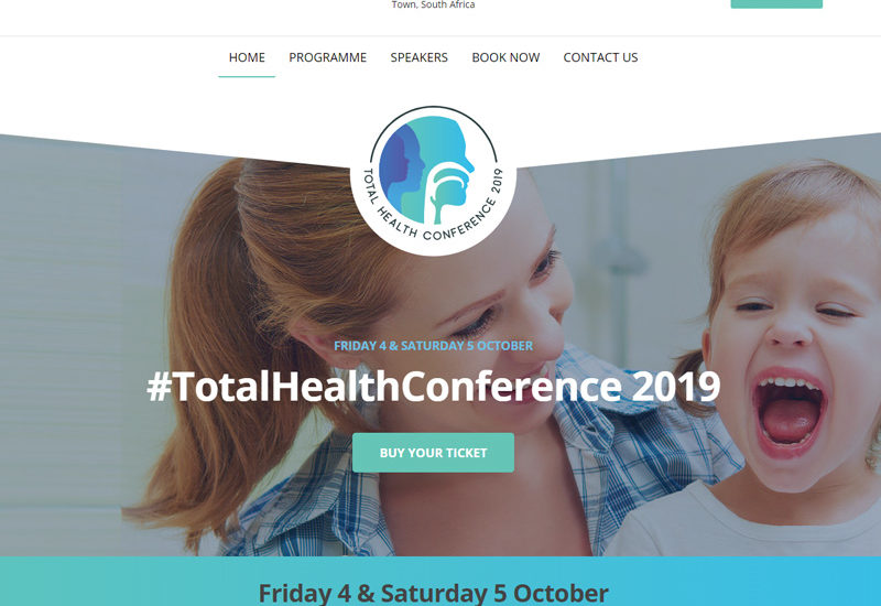 We designed and developed both the Corporate Identity for the Total Health Conference 2019. This event focused on health care professionals is to be held in October 2019 and is set to become an annual event.