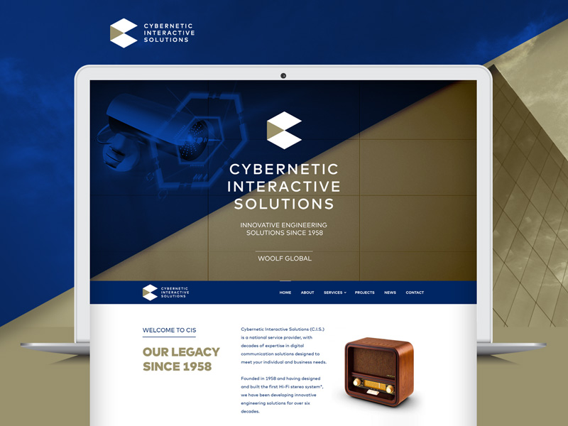 Cybernetic Interactive Solutions' development is in collaboration with Diversity of One. This development is focussed on outlining specific products and services provided by this exciting engineering solutions firm situated in Johannesburg.